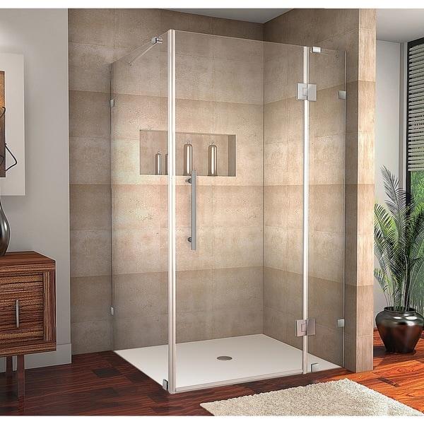 Shop Aston Avalux 42 X 32 X 72 Inch Completely Frameless Shower