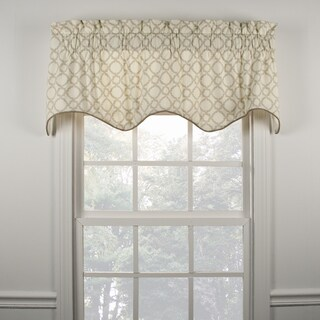Ellis Curtain Kent Crossing Linen Duchess Filler Valance - 50 x 15