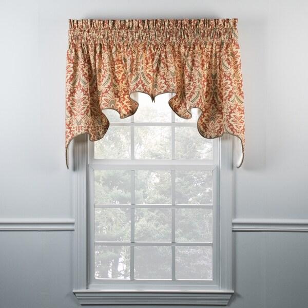 Shop Ellis Curtain Donnington Clay Duchess Valance Free