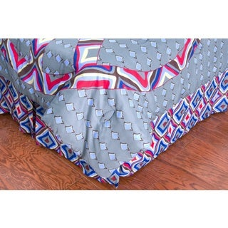Peace Bedskirt - Laura Fair by Rizzy Home