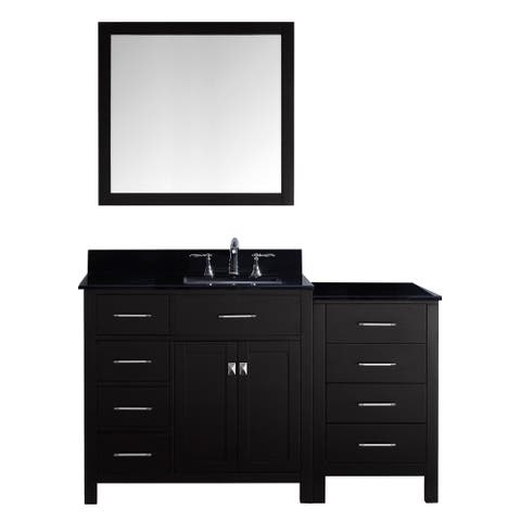 Virtu USA Caroline Parkway 57-inch Single Bathroom Vanity Cabinet Set