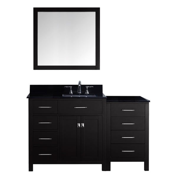 Caroline Parkway 57 In Single Left Sink Vanity W Granite Top