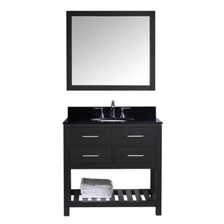 Virtu USA Caroline Estate 36-inch Single Bathroom Vanity Cabinet Set