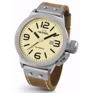 TW Steel Men's CS16 Canteen Cream Watch