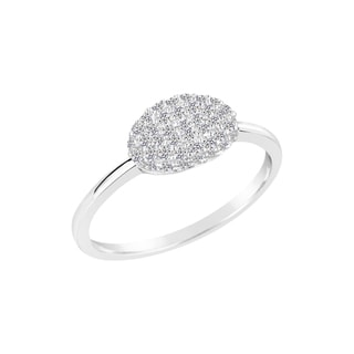 Link to Sterling Silver Lab Created White Sapphire Ring Similar Items in Necklaces