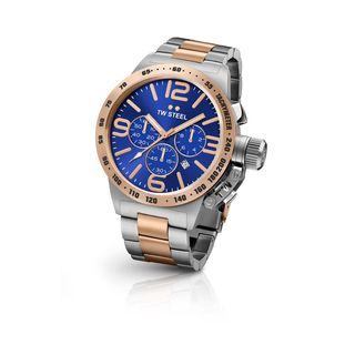 TW Steel Men's CB143 Canteen Blue Watch