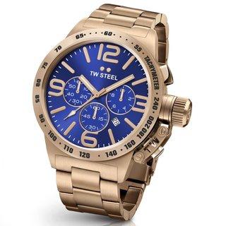 TW Steel Men's CB184 Canteen Blue Watch