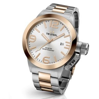 TW Steel Men's CB121 Canteen Silver Watch