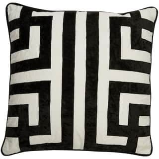 Buy Size 22 x 22 Black Throw Pillows Online at Overstock ...