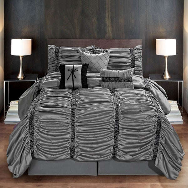 Fashion Street Harley 7-piece Comforter Set
