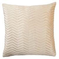 Nikki Chu Tribal Pattern Pink Viscose Poly Fill Pillow - 22 inch