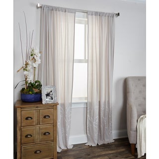 Arden Loft Frolicking Floral Collection Curtain Panel