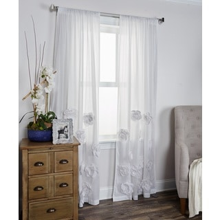 Amazing Thistle Terrace White Window Panel By Arden Loft