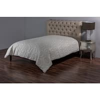 Rizzy Home Isabella Damask Linen Duvet Cover