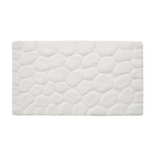 Saffron Fabs Cotton Pebbles Bath Rug