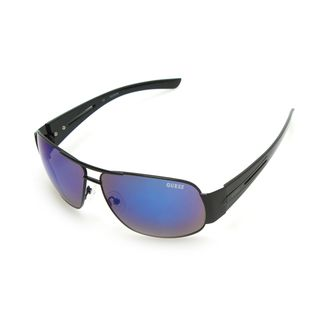 GUESS GF0143 Beige Metal Round Frame Men's Sunglasses (Option: Purple)