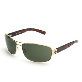 GUESS GU6588 Gold Metal Rectangular Frame Men's Sunglasses