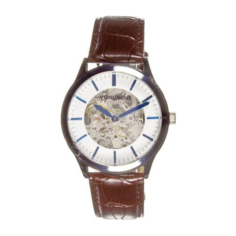 Monument Men's Manchester Skeleton Automatic Watch