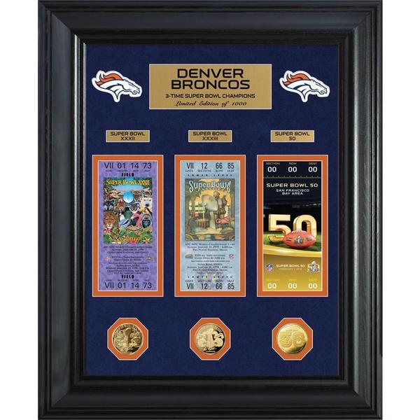 Denver Broncos Super Bowl Championship Photo Mint