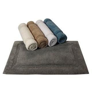 Saffron Fabs Cotton Regency Bath Rug (Set of 2)