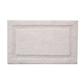 Saffron Fabs Cotton Regency Bath Rug (Option: White)