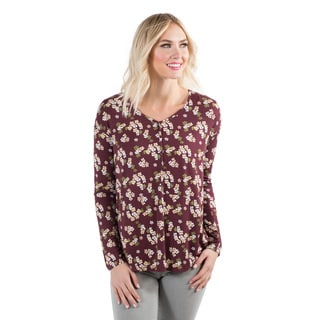 DownEast Basics Women's Flower Power Top