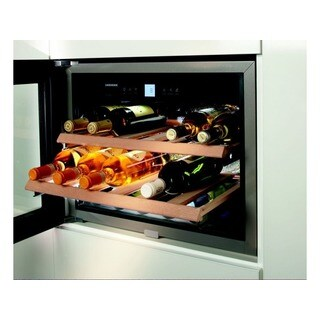 Liebherr Stainless Steel 24-inch Built-in Wine Cabinet