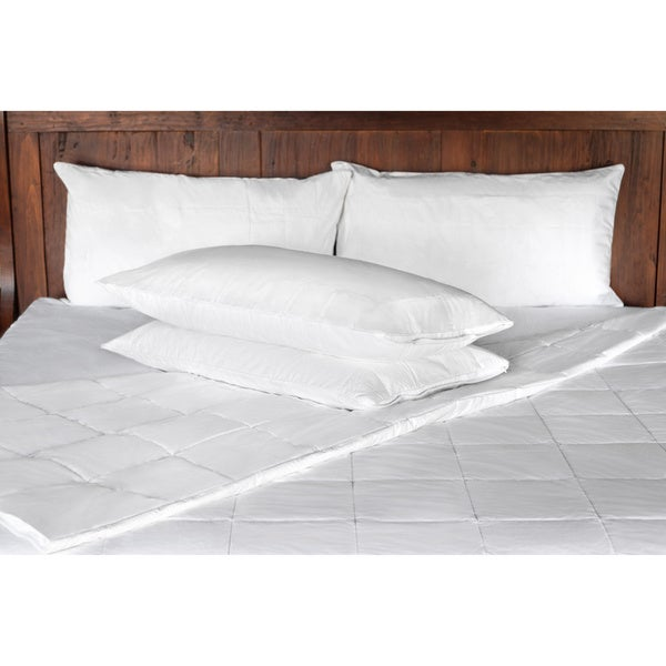 SmartSilk Comforter and Pillow Protector Set