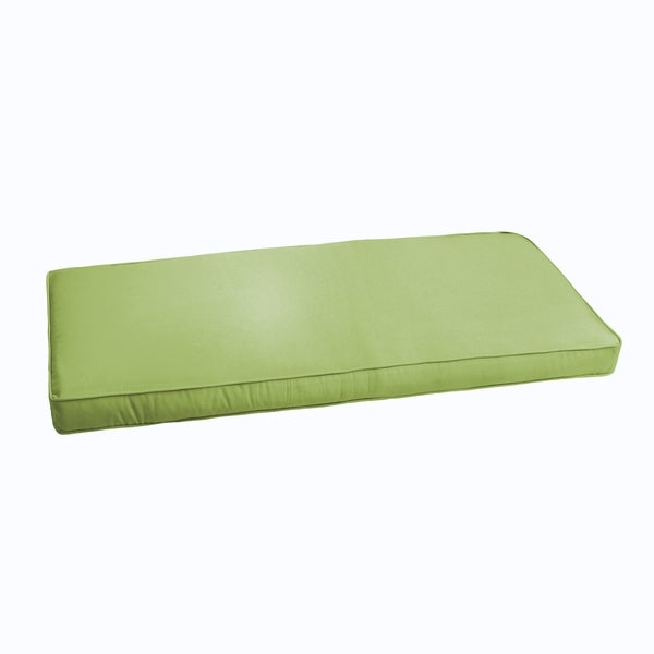 shop sloane apple green 60 inch indoor outdoor corded bench cushion on sale free shipping. Black Bedroom Furniture Sets. Home Design Ideas