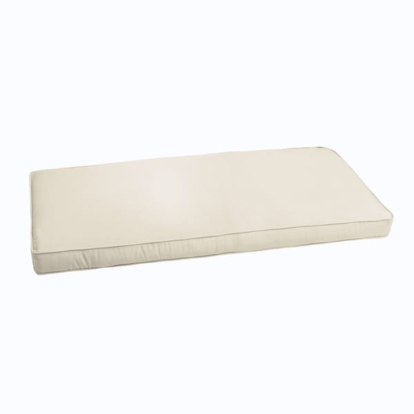 Shop Sloane Ivory 60 Inch Indoor Outdoor Corded Bench Cushion On Sale Overstock 11353387