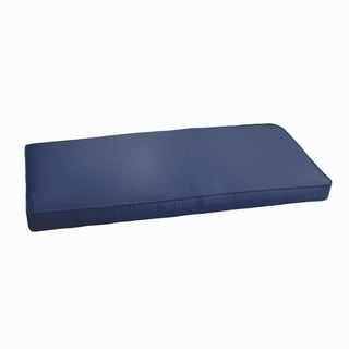 Sloane Dark Blue 60-inch Indoor/ Outdoor Corded Bench Cushion