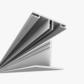 ceilingmax white surface mount ceiling grid kit 100 sq ft