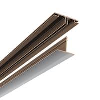 CeilingMAX 100 sq. ft. Brushed Aluminum Surface Mount Ceiling Grid Kit