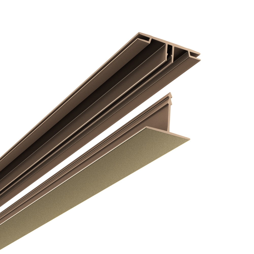 CeilingMAX 100 sq. ft. Argent Bronze Surface Mount Ceilin...