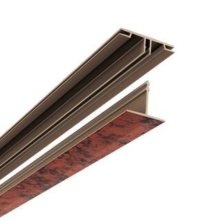 CeilingMAX 100 sq. ft. Moonstone Copper Surface Mount Ceiling Grid Kit