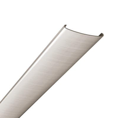 Gridmax 100 sq. ft. Ceiling Grid Cover Kit Brushed Nickel