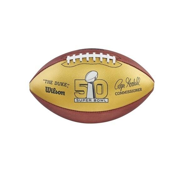 Wilson Golden Anniversary Super Bowl Commemorative Football