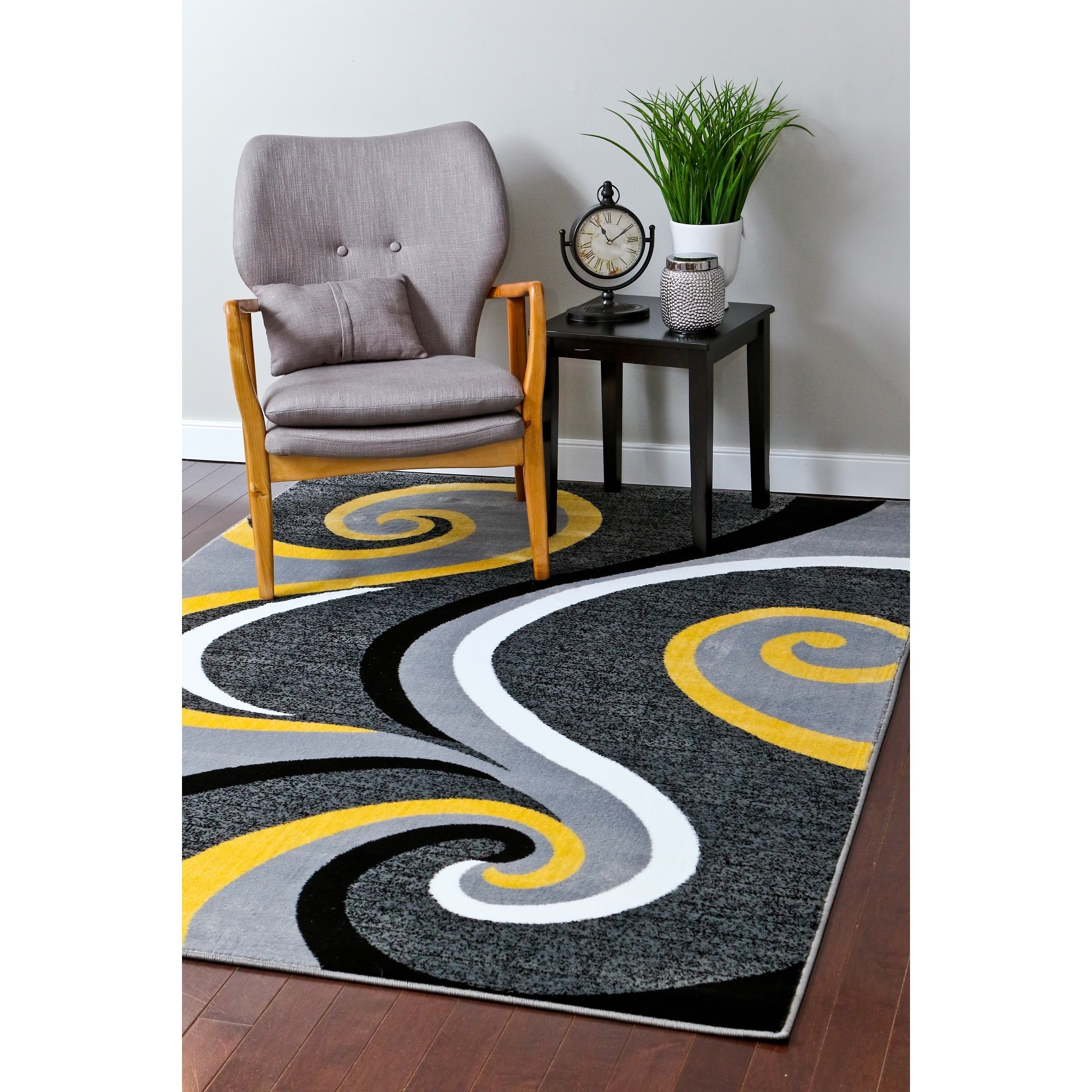 Trendz Collection Yellow Rug