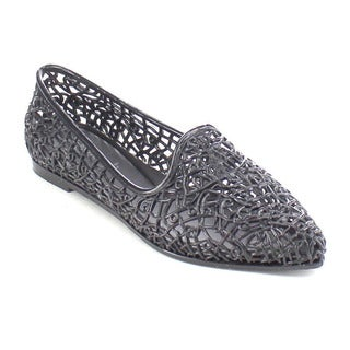 Beston AB16 Women's Glitter Jelly Ballet Flats