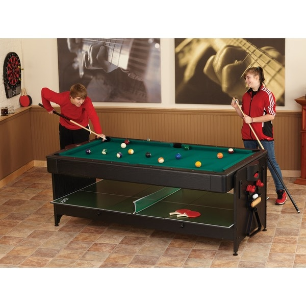 Superior Fat Cat 64 1046 Original 3 In 1 7 Foot Pockey Game Table Billiards/ Air  Hockey/ Table Tennis   Free Shipping Today   Overstock.com   18326520