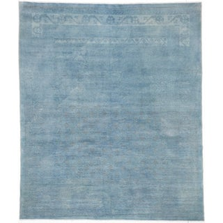 ecarpetgallery Color Transition Blue Wool Rug (8'2 x 9'7)