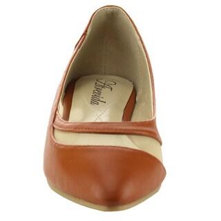 ATREVIDA ZONIA-20 Women's Ballet Comfort Slip-on Flats