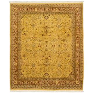 ecarpetgallery Pako Persian 18/20 Yellow Wool Rug (8' x 9'10)
