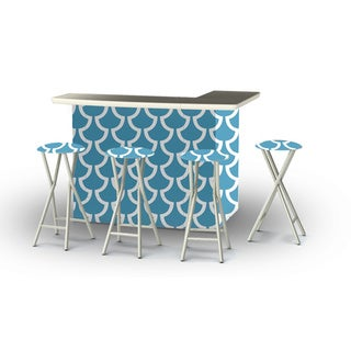 Best of Times Fun with Fins Portable Patio Bar with Stools