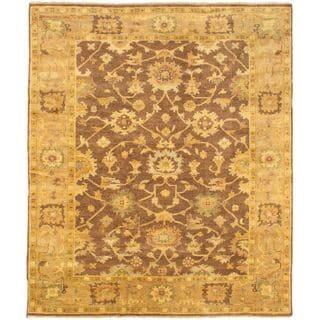 ecarpetgallery Royal Oushak Beige Wool Rug - 8'5 x 10'