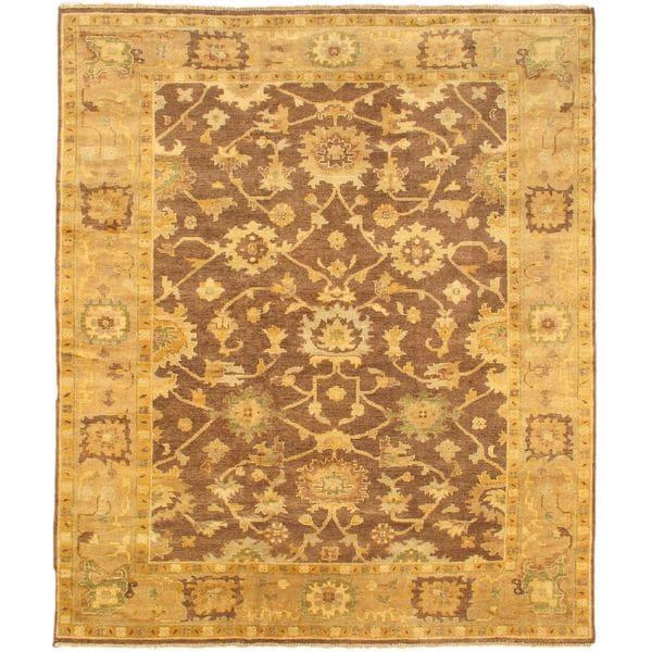 ecarpetgallery Royal Oushak Beige Wool Rug (8'5 x 10')