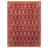 ecarpetgallery Keisari Red Wool Rug