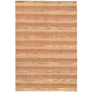 ecarpetgallery Finest Ziegler Chobi Orange Wool Rug (6'6 x 9'8)