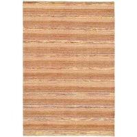 ecarpetgallery Finest Ziegler Chobi Orange Wool Rug (6'6 x 9'8) - 6'6 x 9'8