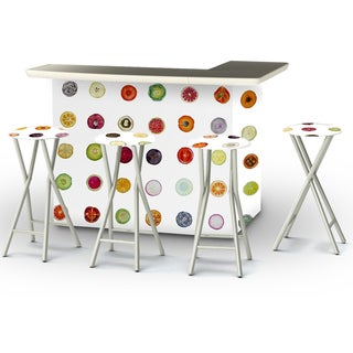 Best of Times Yokibug Fruit Portable Patio Bar with Stools